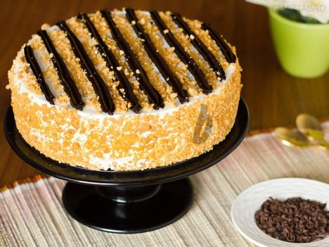 Chocolate Butterscotch Cake in Ghaziabad