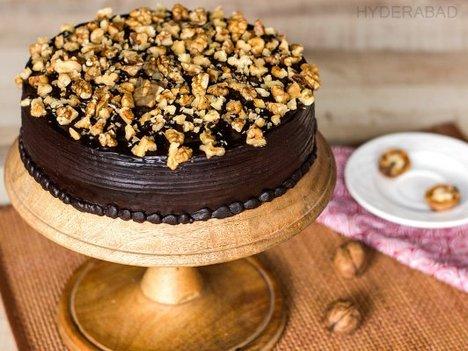 Chocolate Nut Cake in Hyderabad