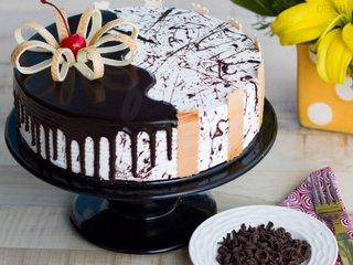 Choco Vanilla Cake in Delhi