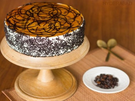 Coffee Mocha Cake in Hyderabad - Buy Now