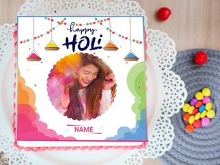 Customised Holi Cake