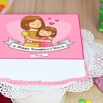 Hug Me Angel Cake