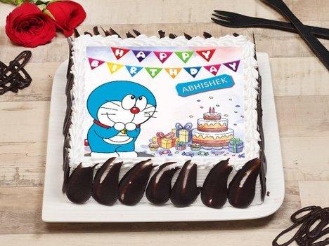 Doraemon Poster Cake