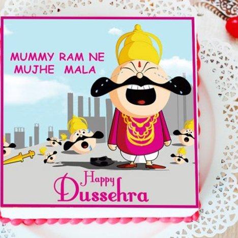 Ravana Cribbing Cake