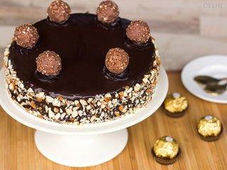 Ferrero Rocher Cake in Delhi