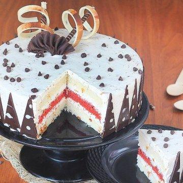Gulkand Cake