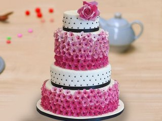 Four Tier Party Cake