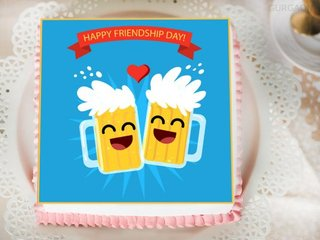Friendship Fun Cake For Friendship Day