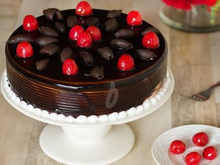 Ebony German Beauty - A German Black Forest Cake