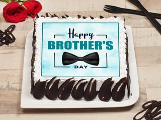 Happy Brothers Day Poster Cake