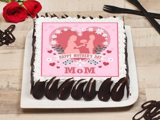 Happy Mothers Day Poster Cake
