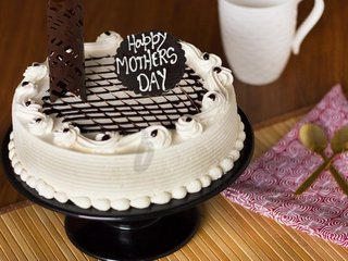 Irish Cream Mothers Day Special Cake