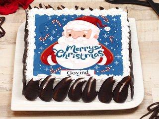 Merry Christmas 2020 Poster Cake