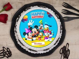 Disney Clubhouse Birthday Poster Cake