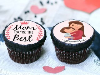 Poster Cupcakes for Mom