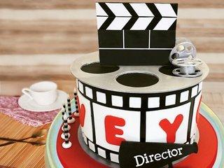 Blockbuster Movie Cake