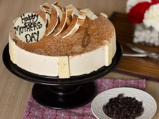 Mothers Day Special Coffee Cake For Coffee Lover Mom