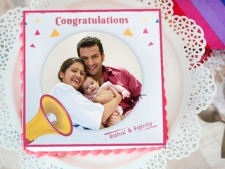 New Hope - A Photo Cake For Best Wishes