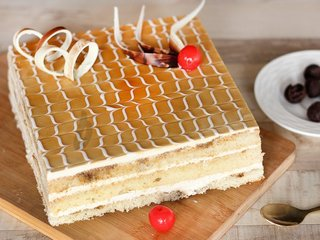 Coffee Opera Cake Online For Anniversary