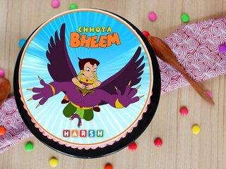 Flying Bheem Cake