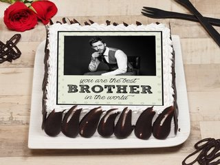 Photo Cake for Best Brother
