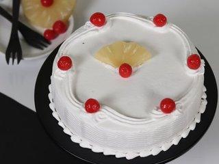 Pineapple Sensation - A Pineapple Fruit Cake