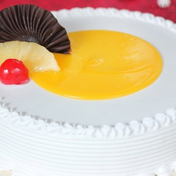 Tangy Pineapple Slice Cake