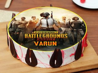 PlayerUnknown Battlegrounds Poster Cake