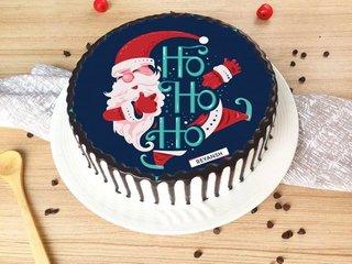 Santa Claus Poster Cake