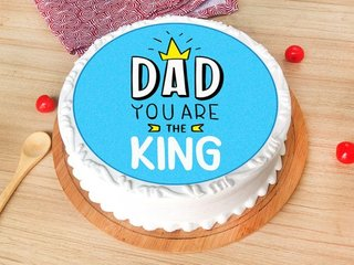 Poster Cake for Dad