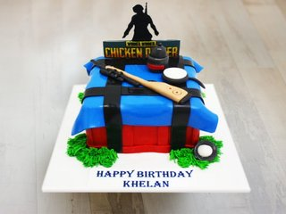 PUBG Craze - A PUBG Cake for PUBG Lovers