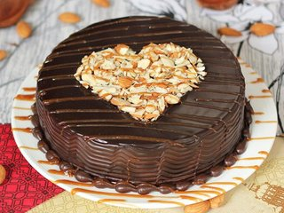 Coco Mania - A Chocolate Nutty Cake