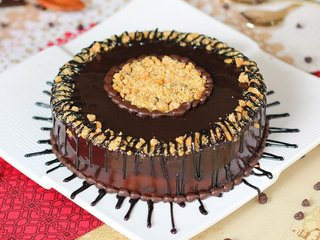 Nuttycious Treat - Choco crunchy Cake