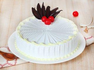 Merry Go Round - Round Shaped Vanilla Cake