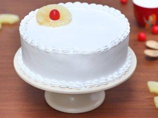 Incredible Vegan Vanilla - Round Shaped Vanilla Cake in Ghaziabad