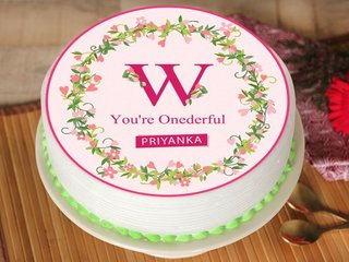 Womens Day Personalised Cake