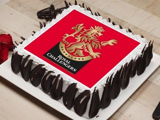 Royal Challengers Bangalore Poster Cake