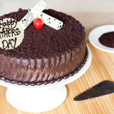 A Fathers Day Special Chocolate Cake