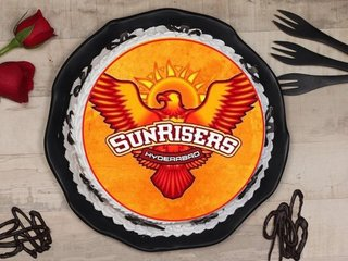 Sunrisers Hyderabad Poster Cake
