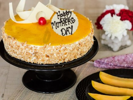 Sunshine Beauty - A Mothers Day Special Mango Cake