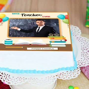 Best Teacher Cake