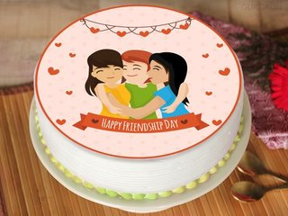 Friendship Day Special Photo Cake For Timeless Memories