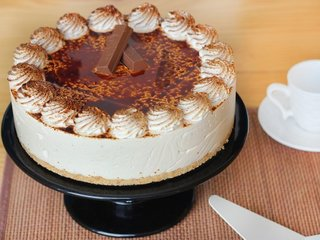 Tiramisu Cheesecake Online For Work Anniversary