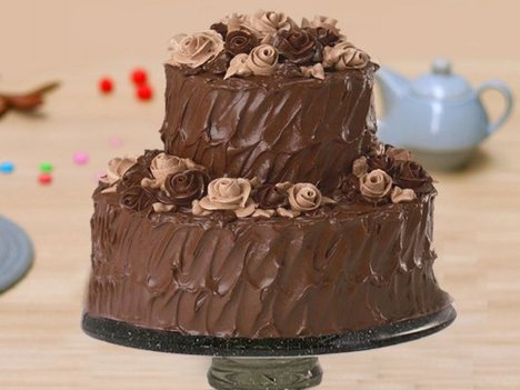 Two Tier Party Cake