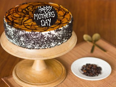Coffee Mocha Cake For Mothers Day