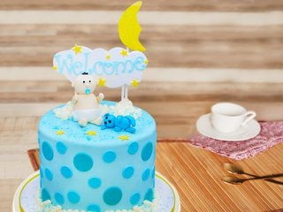 A Sweet Beginning - A Baby Shower Cake