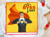 Happy Boss Day Poster Cake