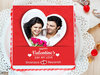 Symphony Of Love - A personalised valentine photo cake