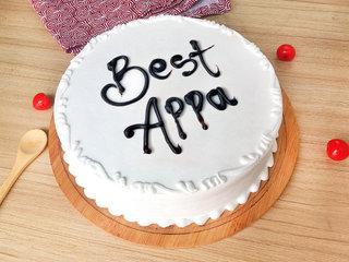 Cream Cake for Dad