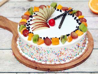 Vanilla Fruit Cake in Ghaziabad